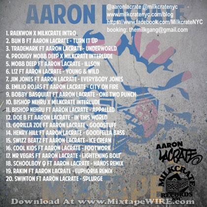 Milkcrate-Athletics-Aaron-Lacarate-Tracklist