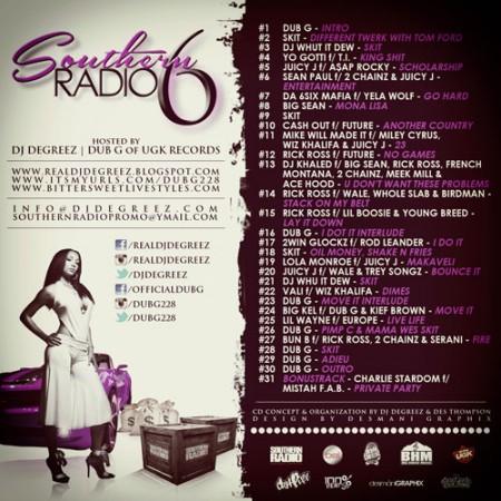 southern-radio-6-tracklist