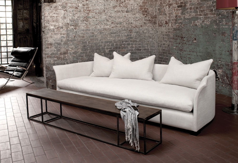 alex sofa montauk turkish style set cocooning equipment mixte magazine from the in house designer danny chartier at grace