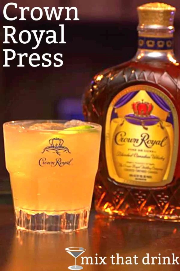 Drinks Made With Crown Apple : drinks, crown, apple, Crown, Royal, Press, Drink, Recipe