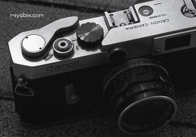 VI L(6L)型,Canon,キャノン,フィルム,レンジファインダー