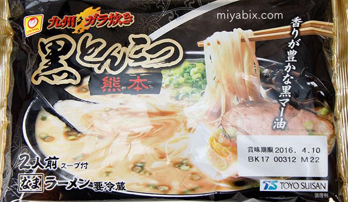 とんこつ,ラーメン,熊本,風龍,生麺,セロリ,水菜,みつば