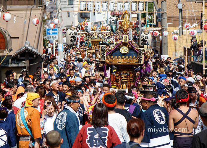 浦安,三社祭,西組,東組,左右,弁財天
