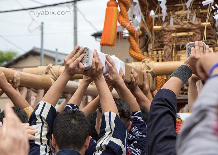 浦安,三社祭,西組,東組,左右弁財天,豊受神社,清龍神社