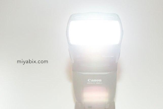 スピードライト,580EXⅡ,TTL,発光