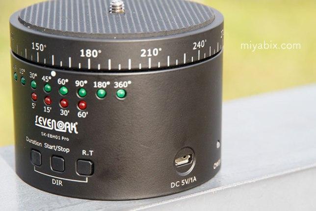 Sevenoak,SK-EBH01,自動回転雲台