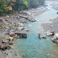 落滝橋付近の写真
