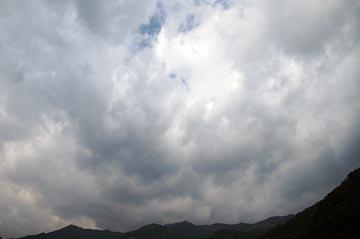 4日の空の写真