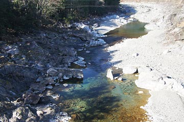 落滝橋からの写真