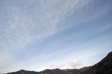 22日の空の様子