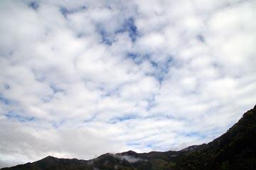 18日の空の様子