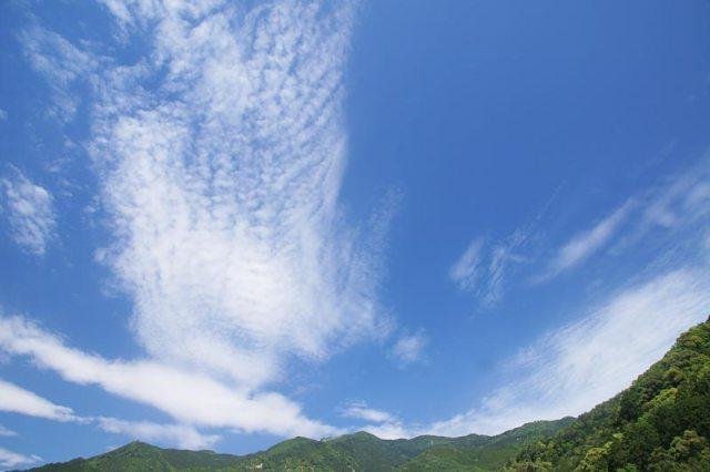 21日の空の様子