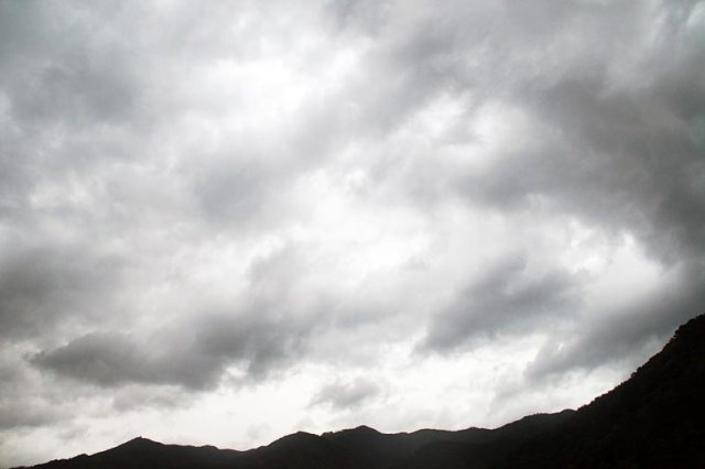 5日の空の様子