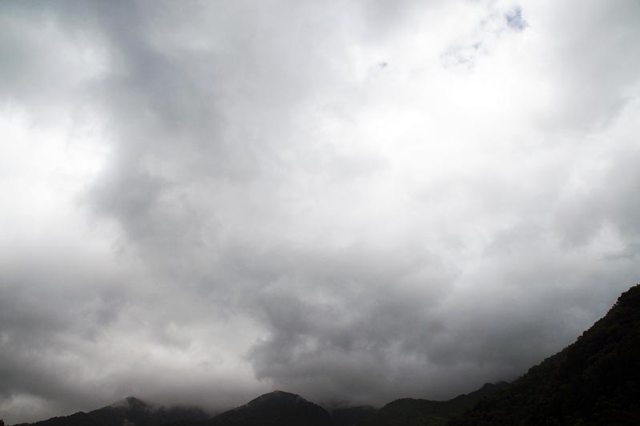 29日の空の様子