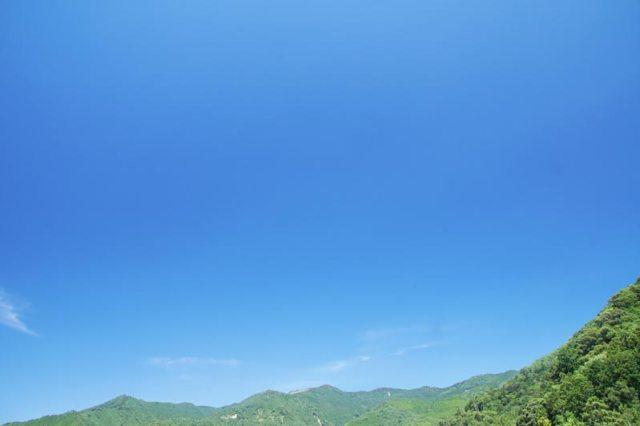 8日の空の様子