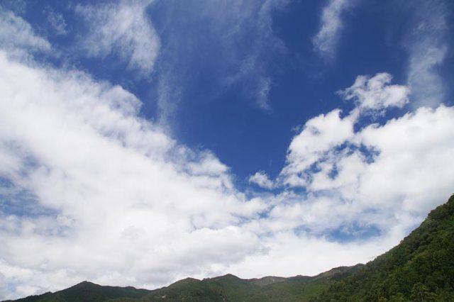 11日の空の様子