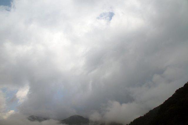 19日の空の様子
