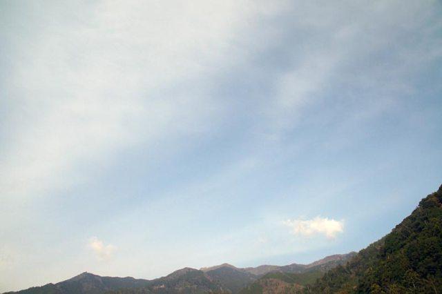 20日の空の様子