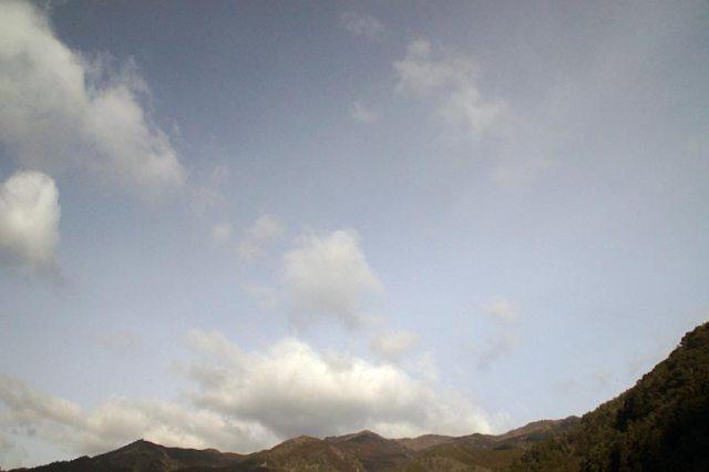 14日の空の様子