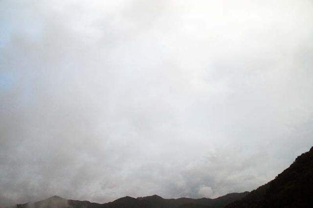 23日の空の様子