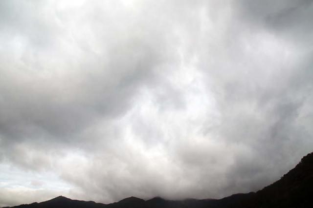 10月20日の空の様子