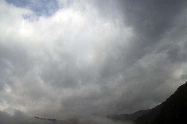 12月18日の空の様子