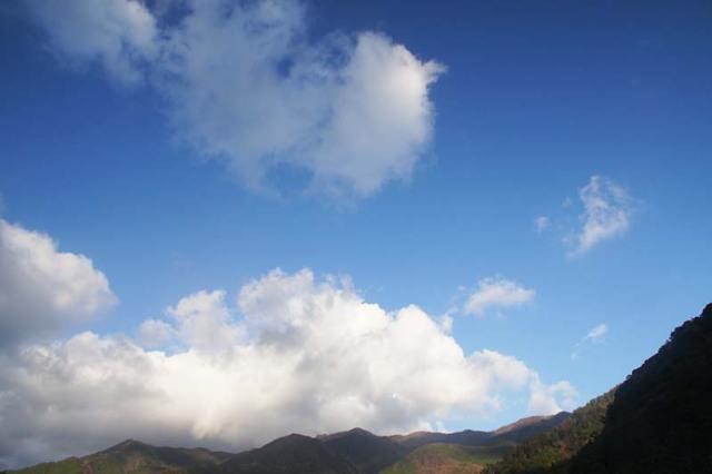 12月20日の空の様子