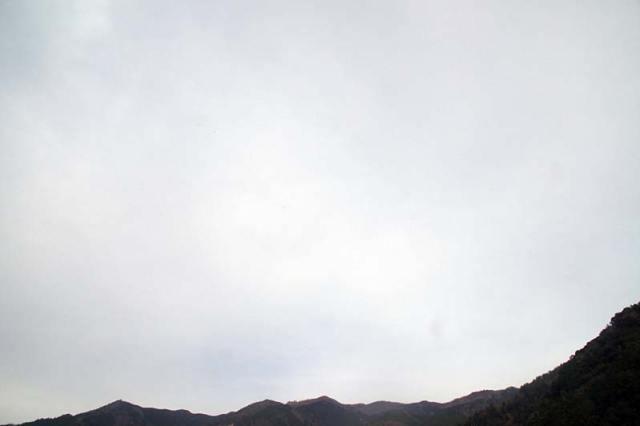 12月21日の空の様子