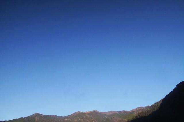 12月29日の空の様子