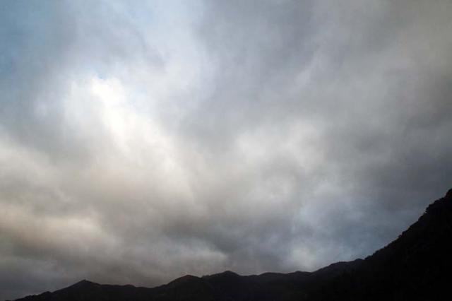 1月10日の空の様子