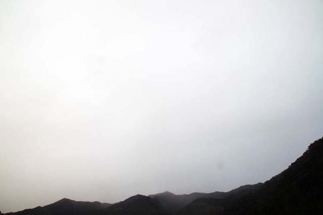 1月17日の空の様子