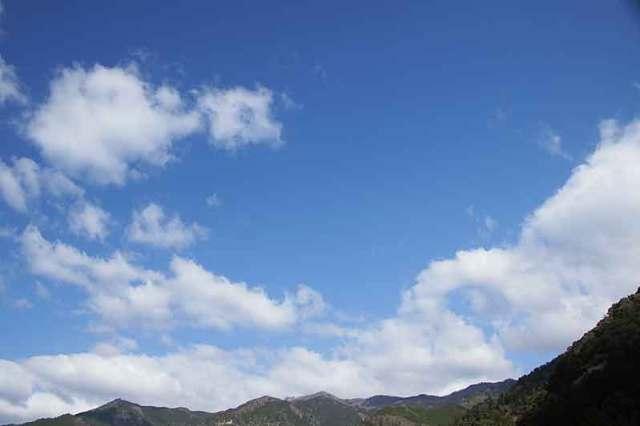 4月6日の空の様子
