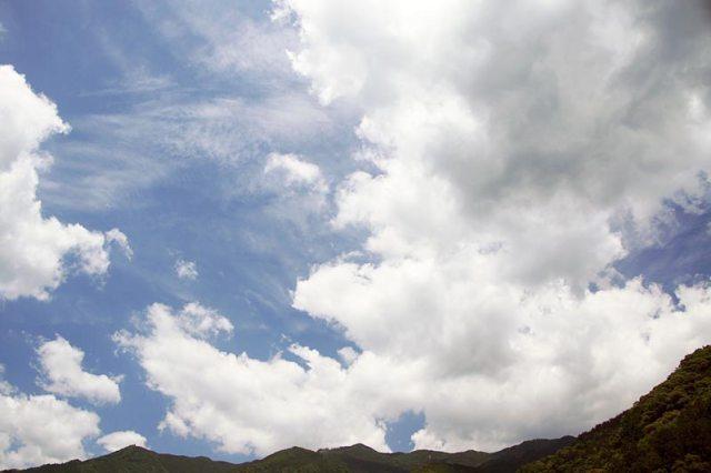 6月15日の空の様子