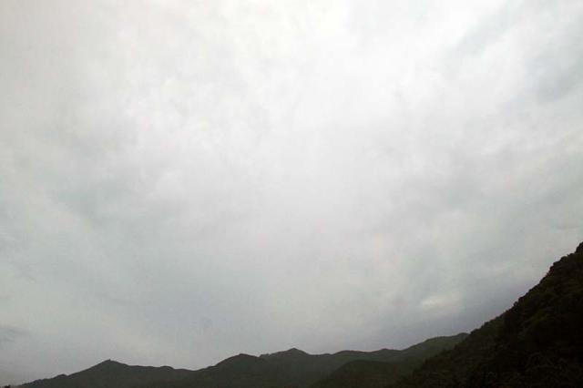 6月30日の空の様子