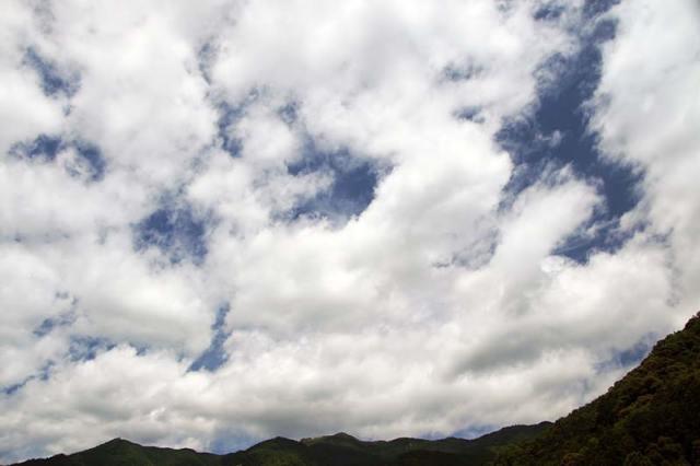 7月2日の空の様子