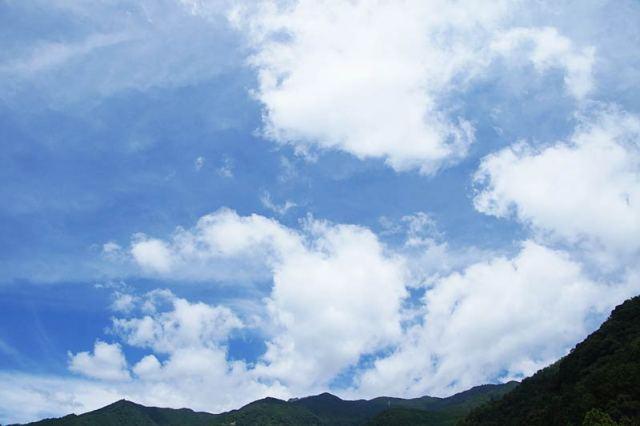 7月22日の空の様子