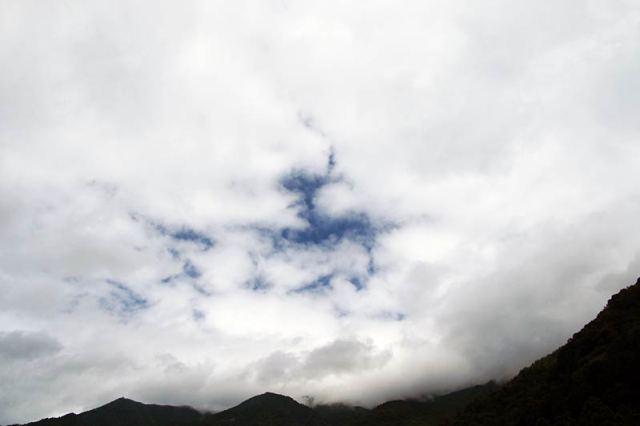 8月28日の空の様子