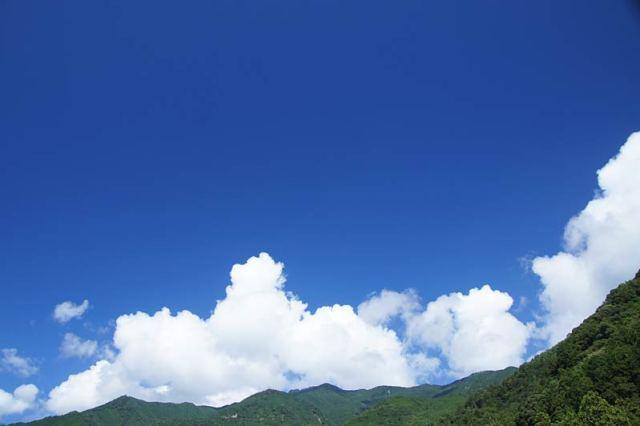8月29日の空の様子