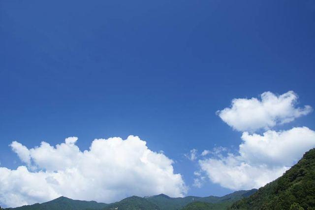 8月30日の空の様子