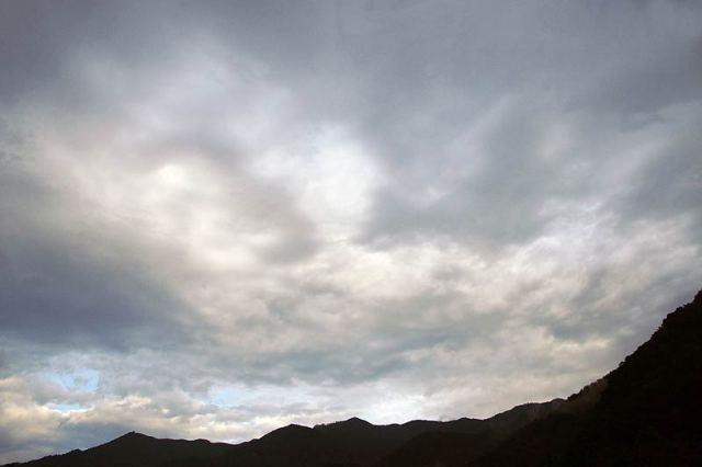 9月18日の空の様子