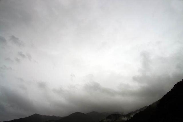 10月8日の空の様子