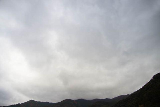 11月9日の空の様子