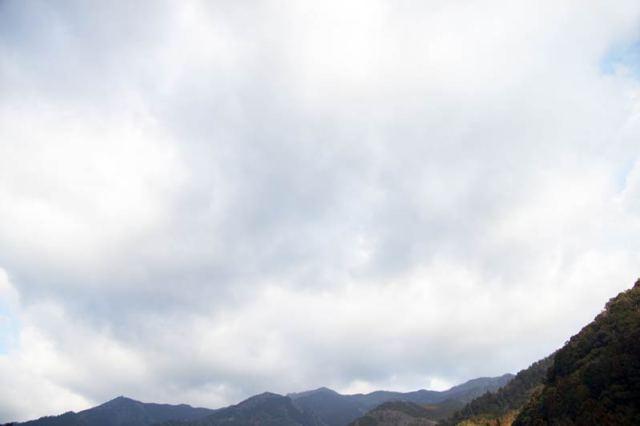 1月31日の空の様子