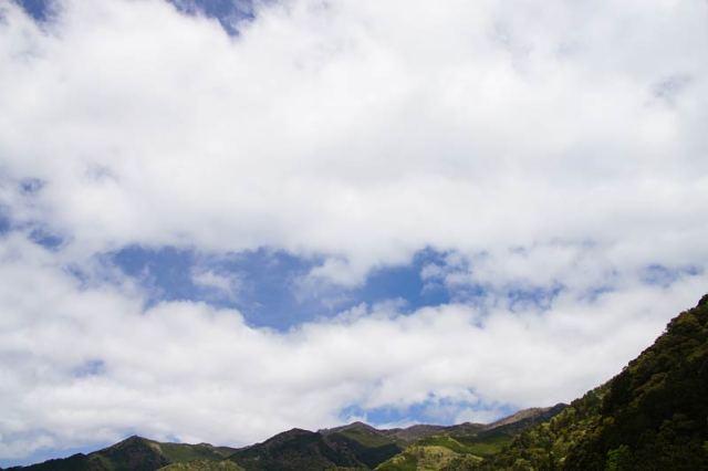 4月15日の空の様子