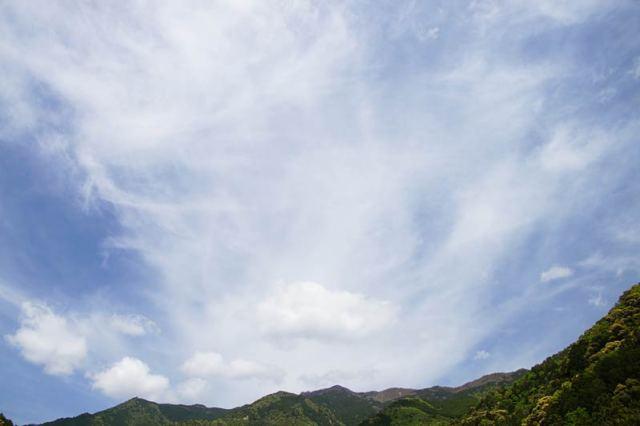 4月27日の空の様子