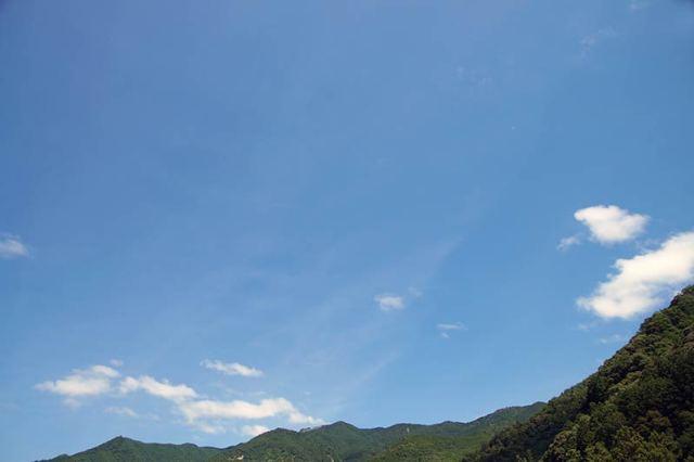 7月20日の空の様子