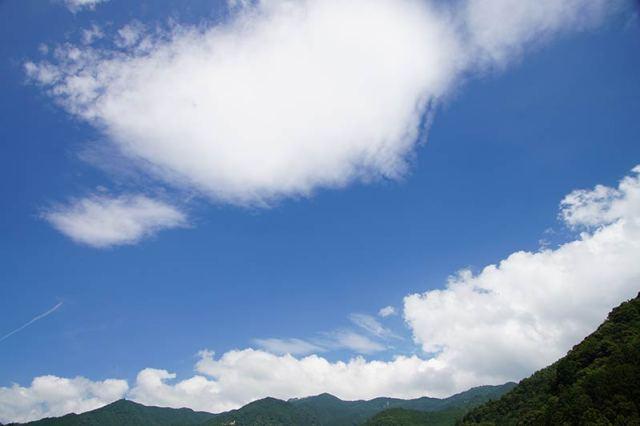 7月27日の空の様子