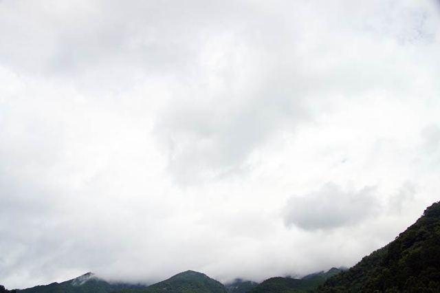 8月3日の空の様子