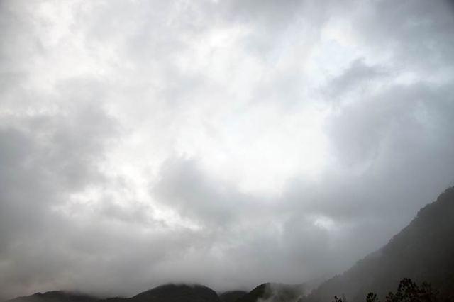 8月7日の空の様子