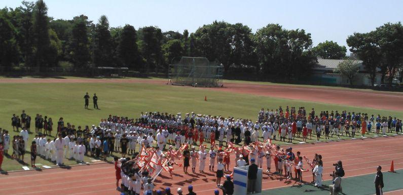 平成28年度伊勢崎市スポーツ少年団総合開会式